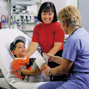 DAILY CUSTODY TIP Give Immediate Notice To Other Parent Of - Kids emergency room